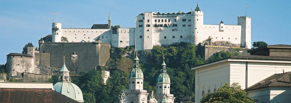 Das historische Zentrum der Stadt Salzburg